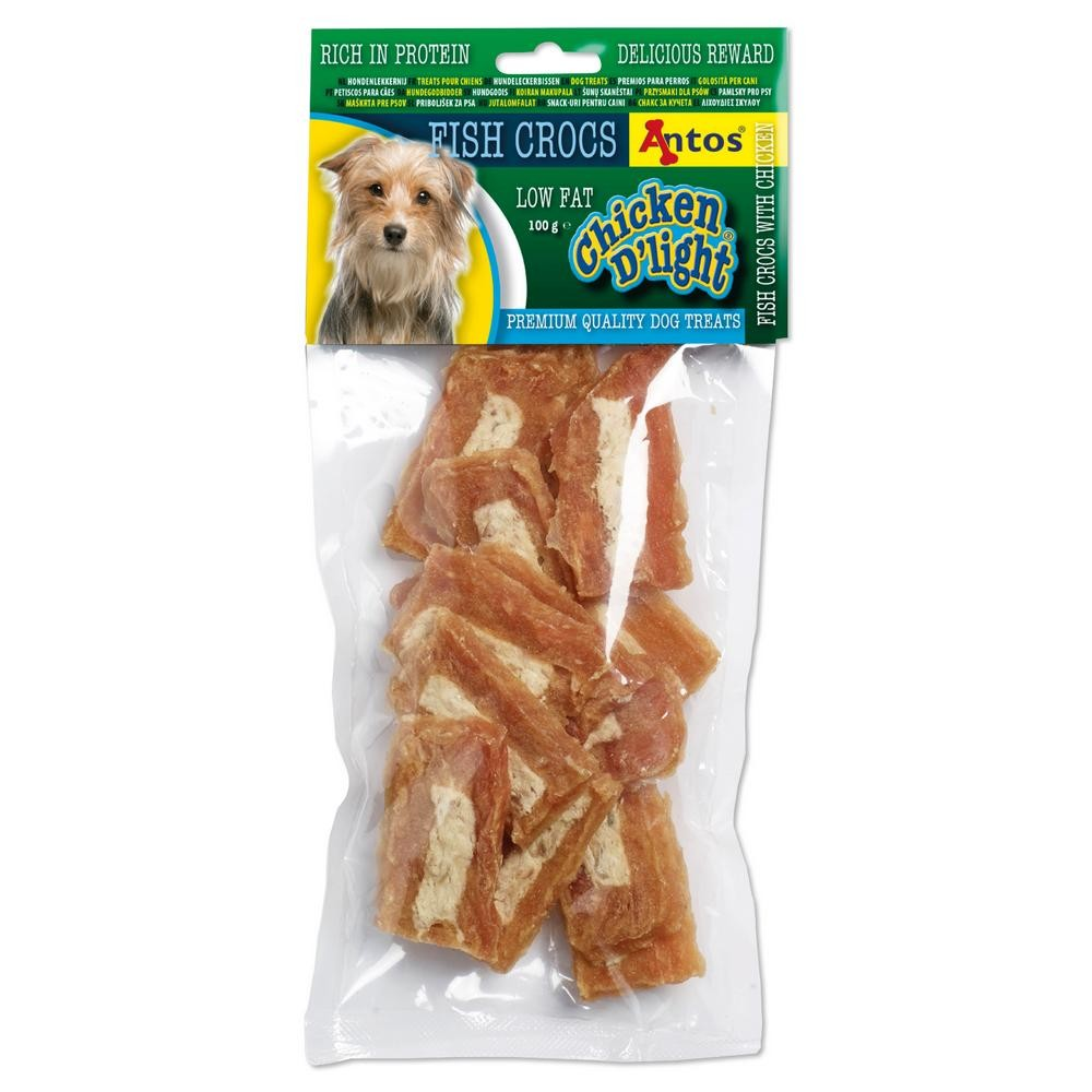 Chicken D'light Fish Crocs 100 gr