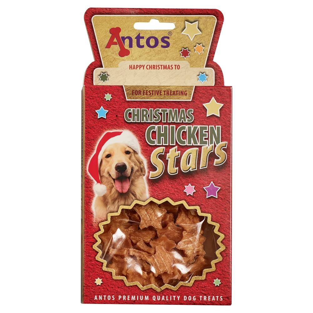 Christmas Chicken Stars 100 gr