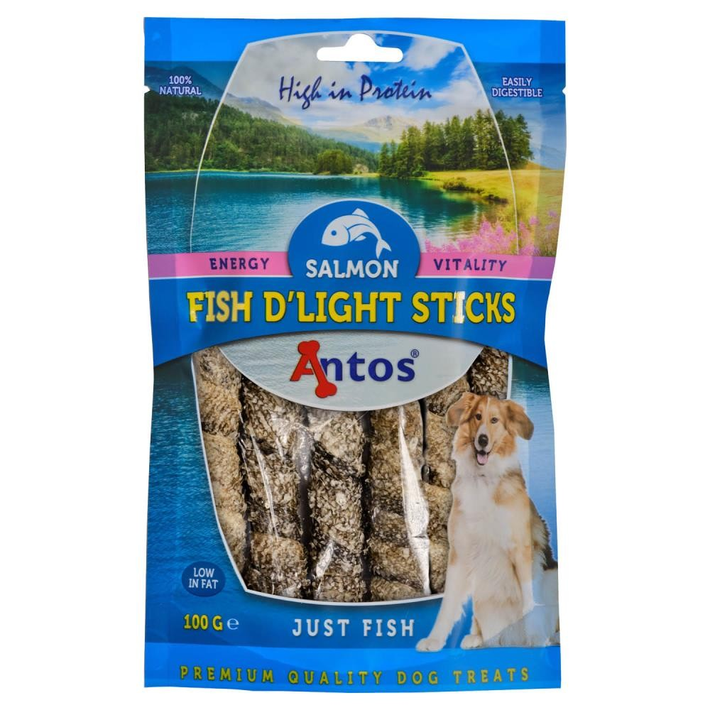 Fish D'light Salmon Sticks 100 gr