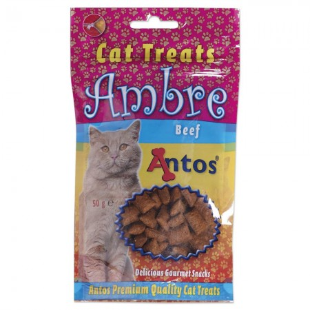 Cat Treats Ambre Rund 50 gr