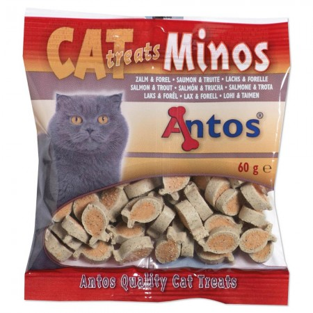 Cat Treats Minos Zalm&Forel 60 gr