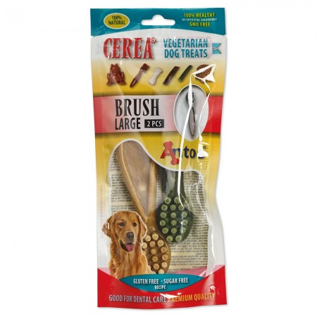 Cerea Brush Large 15 cm 2 pces - 20629