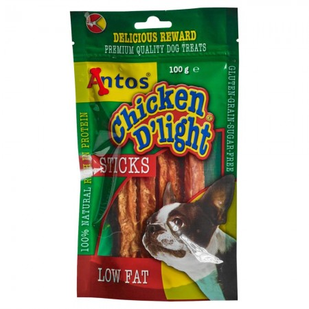 Chicken D'light Sticks 100 gr