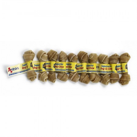"Knotted Bone 4½"" 35-40 gr"