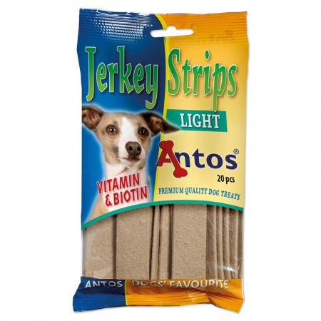 Jerkey Strips Light 20 piezas