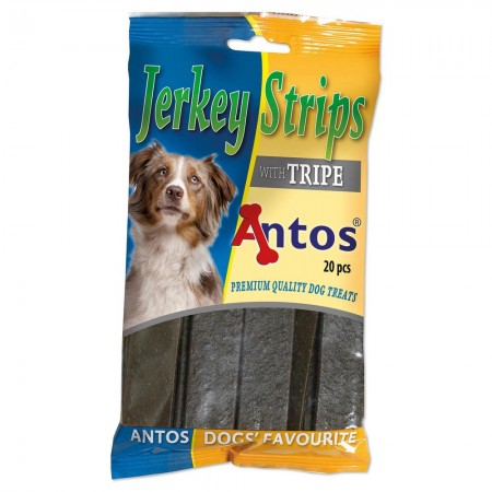 Jerkey Strips Tripe 20 pcs