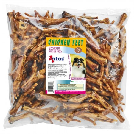 Chicken Feet Dried 1 kg