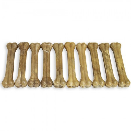 "Raw Hide Pressed Bone Natural 12-12½"" 400-420 gr"