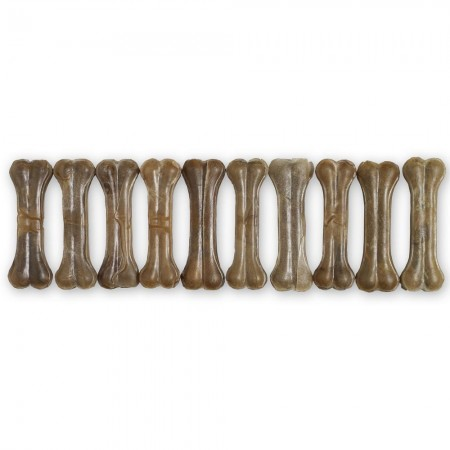 "Raw Hide Pressed Bone Natural 5"" 55-60 gr"