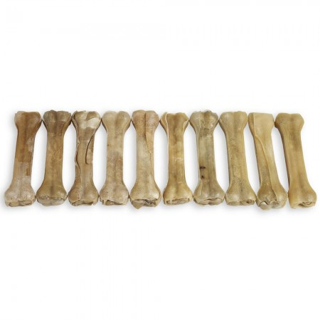 "Raw Hide Pressed Bone Natural 8½"" 160-170 gr"