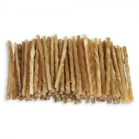 "Raw Hide Twisted Sticks 5"" 7-8 mm"