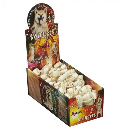"""Rumba's Knotted Bone Natural 4½"""" 40-45 gr"""