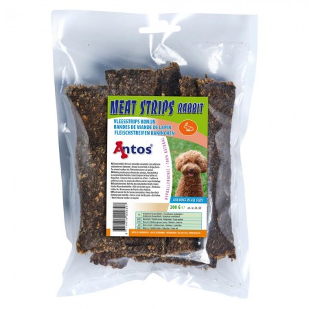 Meat Strips Rabbit 200 gr